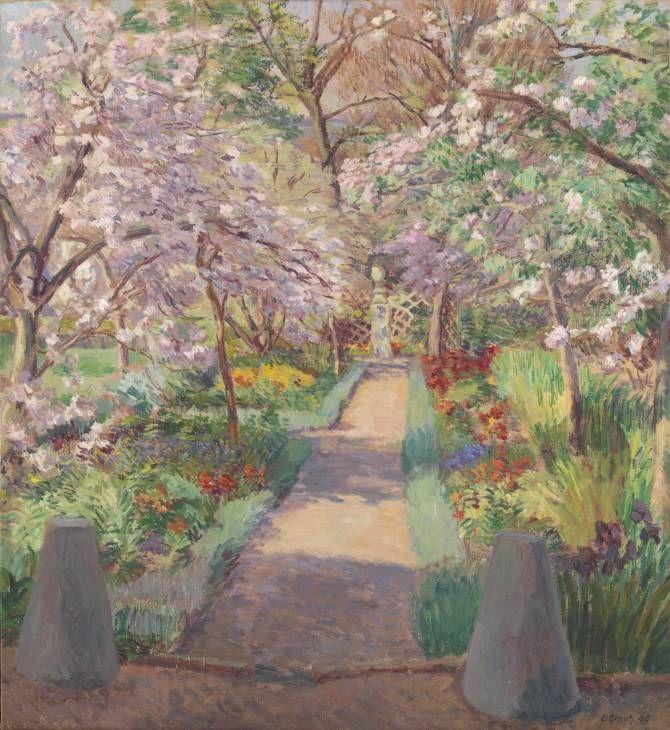 Duncan Grant - Garden Path in Spring, 1944
