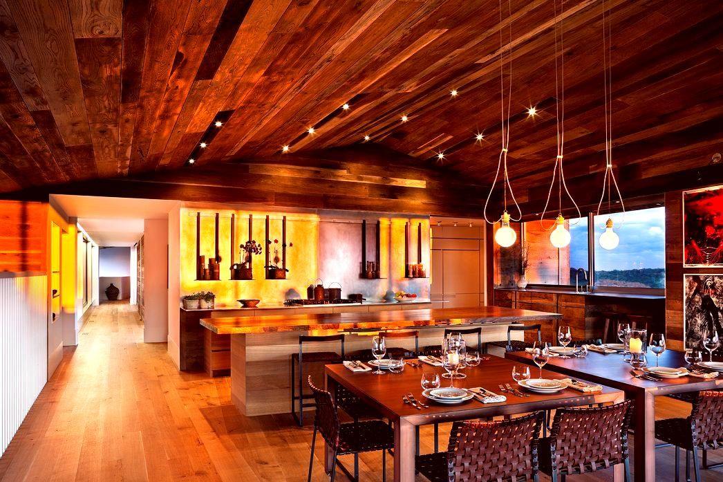 Interior Furniture Loci House Design Ideas by Bates Masi Architects  © Michael Moran