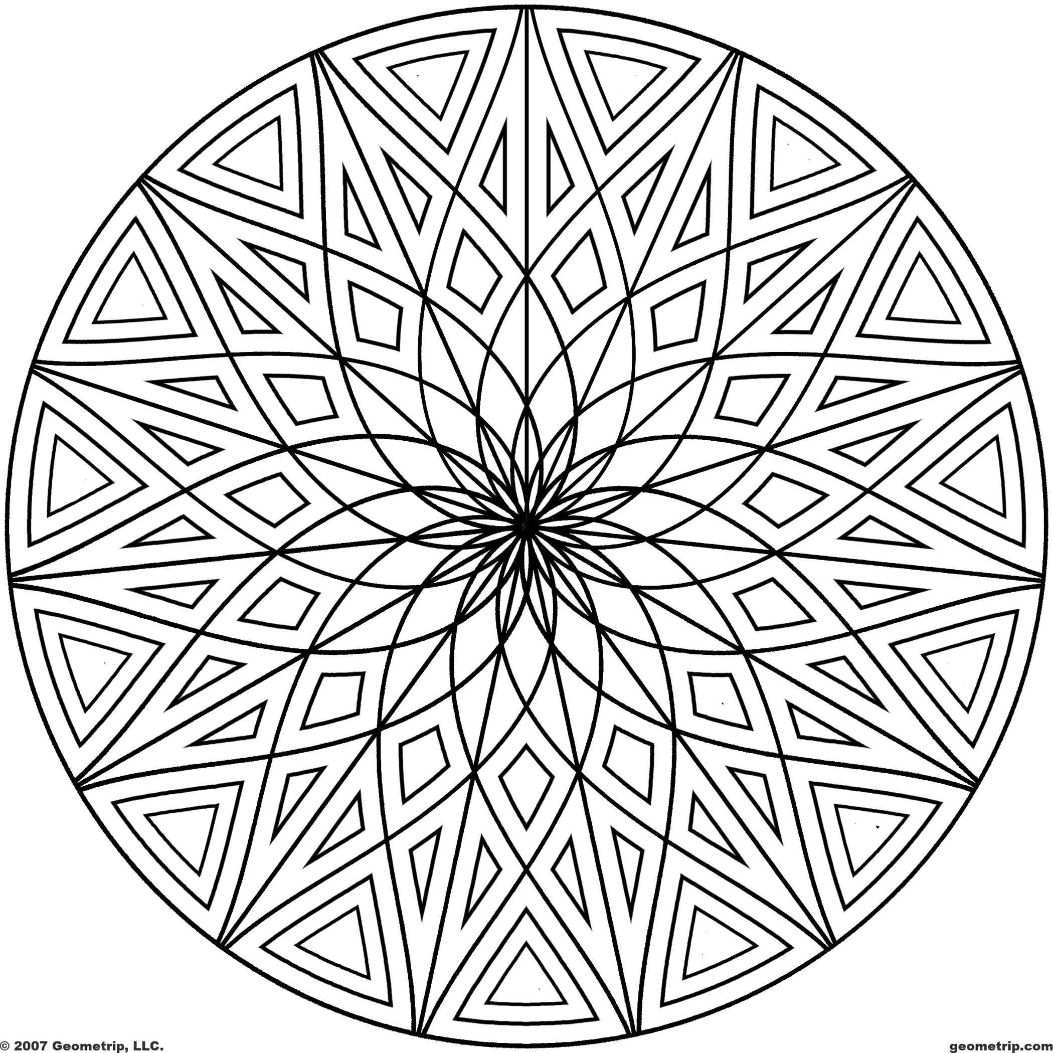 Coloring Pages of Cool Designs Download PDF JPG Sketches