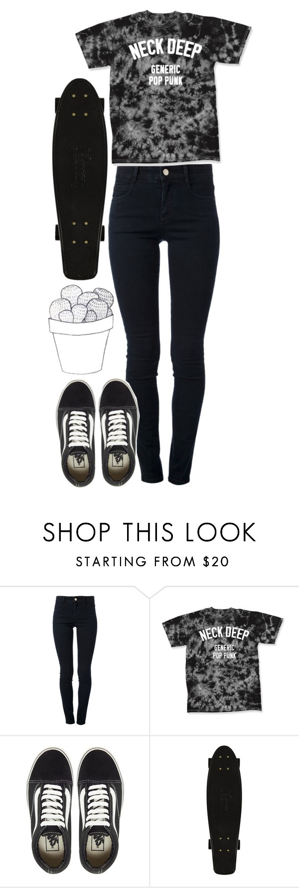 """{ you like me best when i'm off my rocker }"" by jlol ❤ liked on Polyvore featuring STELLA McCARTNEY and Vans"
