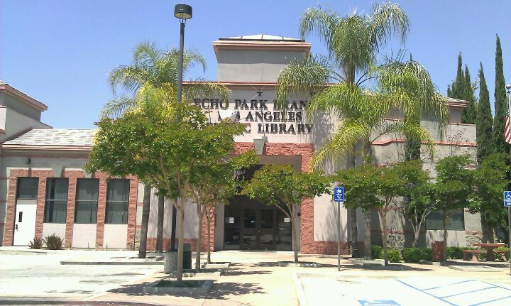 Echo Park Branch Library was established in the early 1900s as a depository for discarded books in the old Echo Park playground clubhouse. By 1908, the branch's first librarian was appointed and the facility was opened one afternoon and one evening each week.  LAPL sought quarters of its own in 1925 when plans for a new park clubhouse began to take form. A small storefront at 1811 Temple Street was rented in April of that year, and the Library occupied it until the new Echo Park Branch…