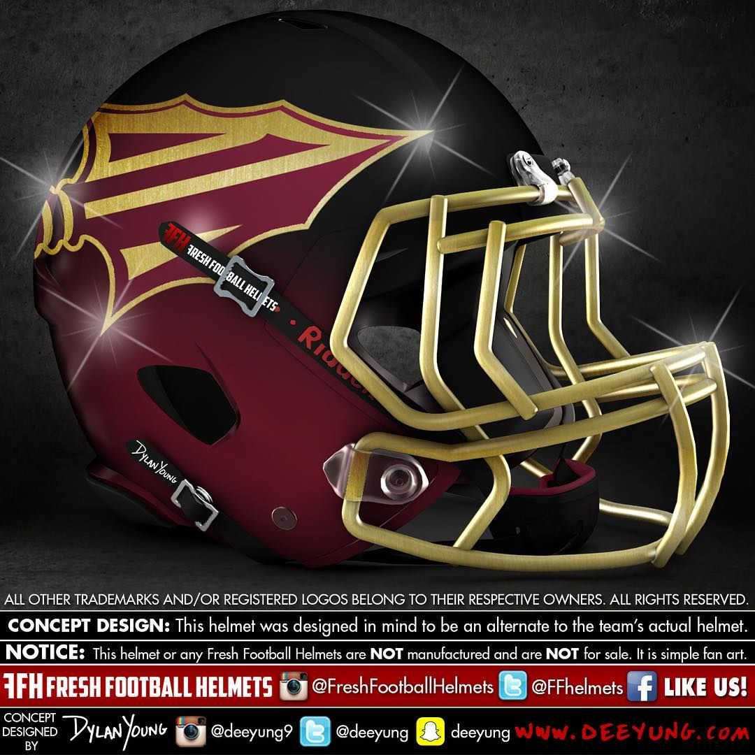 Designer Has Concept Helmets For 43 Of College Football 39 S Top Programs Football Helmets Football Helmet