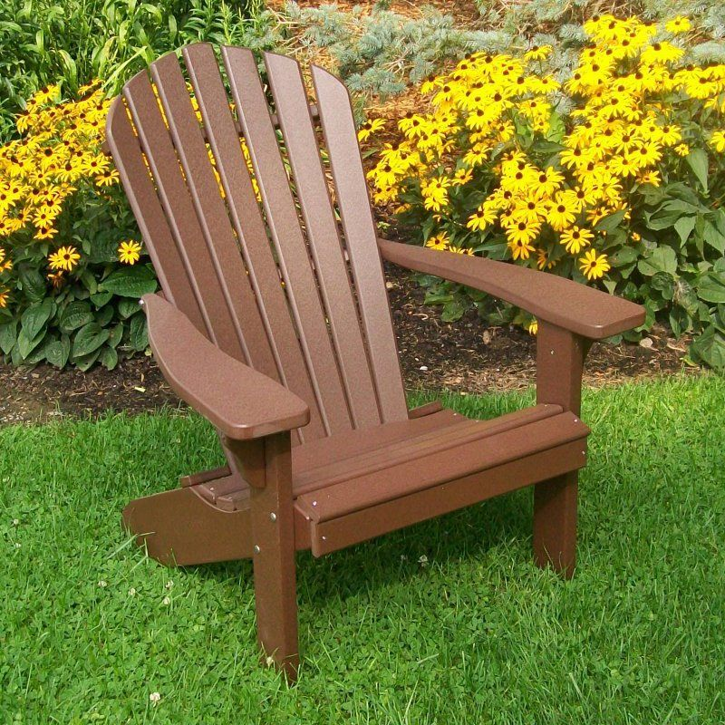 outdoor a u0026 l furniture recycled plastic fanback adirondack chair - Adirondack Chairs Plastic