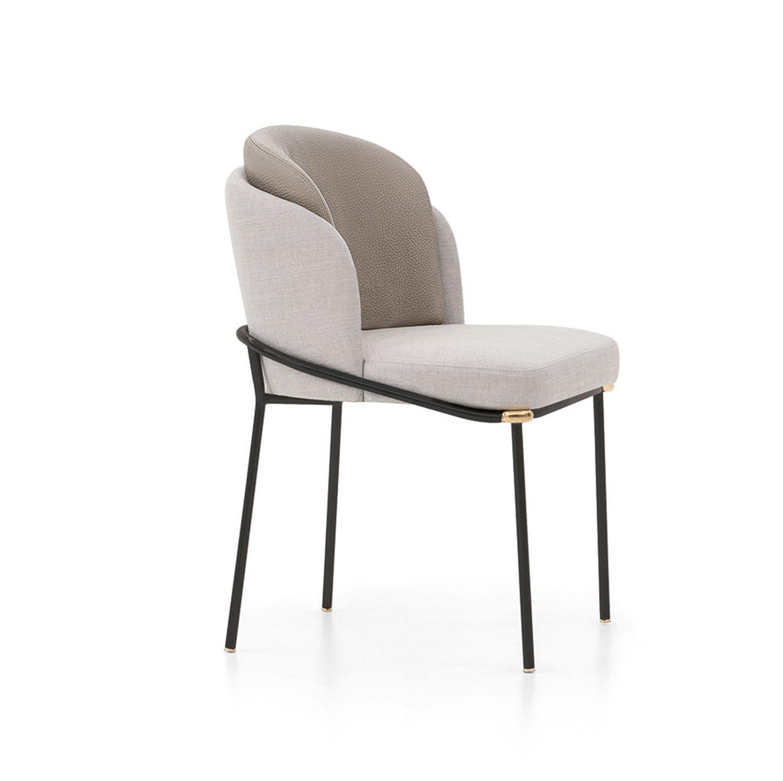 Fil Noir Dining Chair By Minotti On Ecc Furniture Dining Chairs Minotti Furniture Dining Chairs