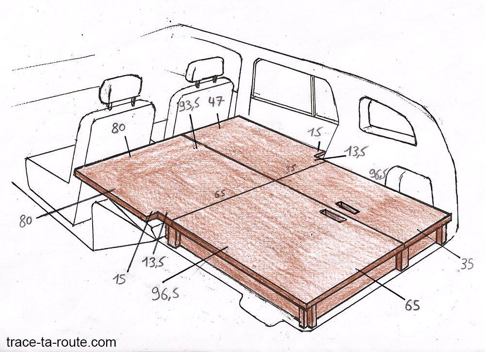 road trip comment am nager sa voiture break pour dormir dedans pinterest furgonetas. Black Bedroom Furniture Sets. Home Design Ideas