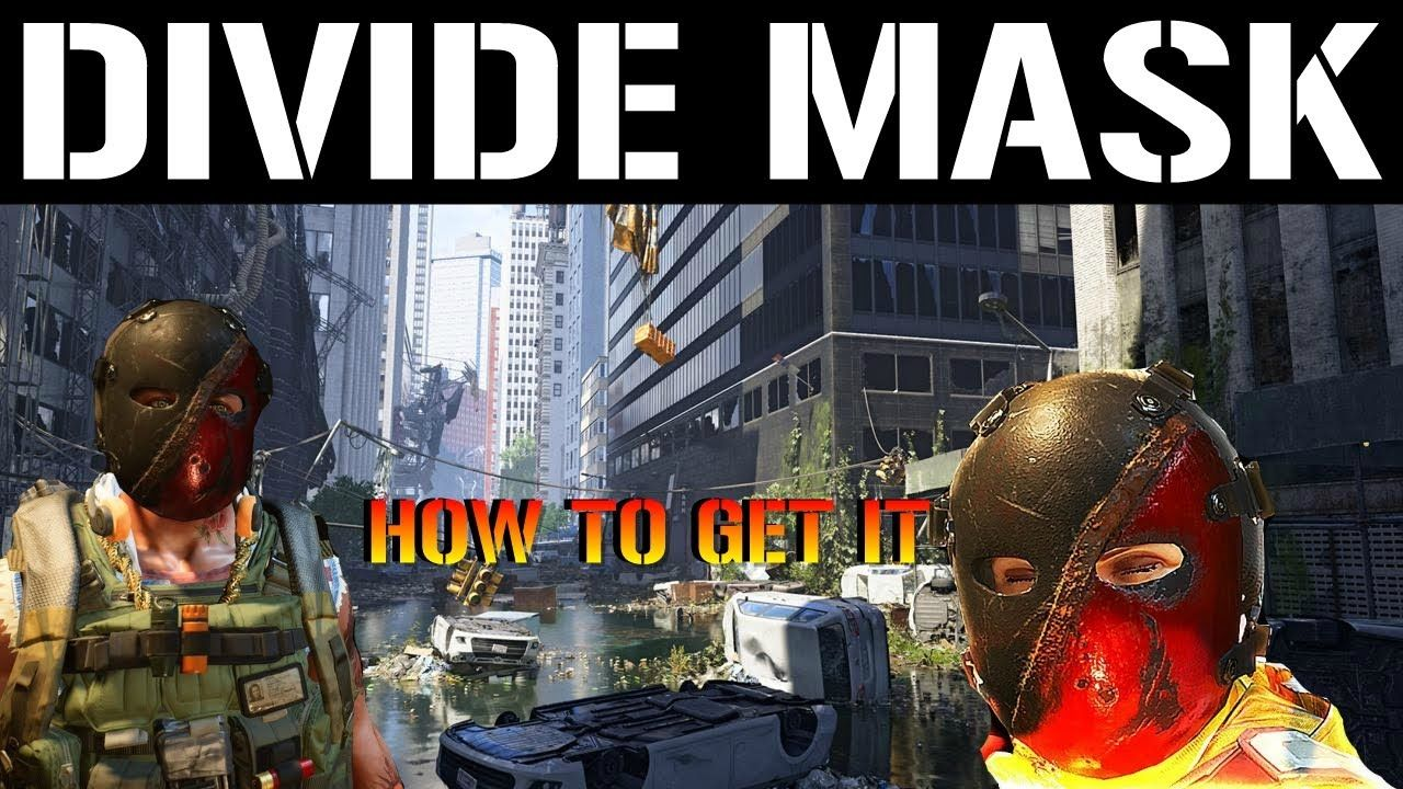 The Division 2 The *NEW* DIVIDE HUNTER MASK! GUIDE (How