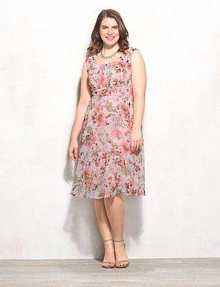 Db Signature Plus Size Ella Floral Dress My Style Pinterest