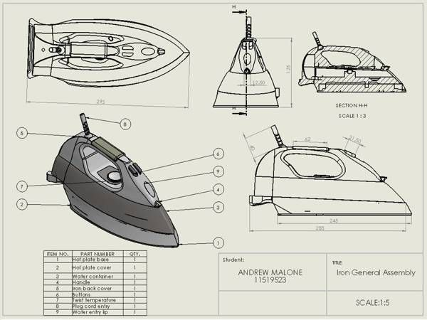 Pin on solid works CAD DESIGN