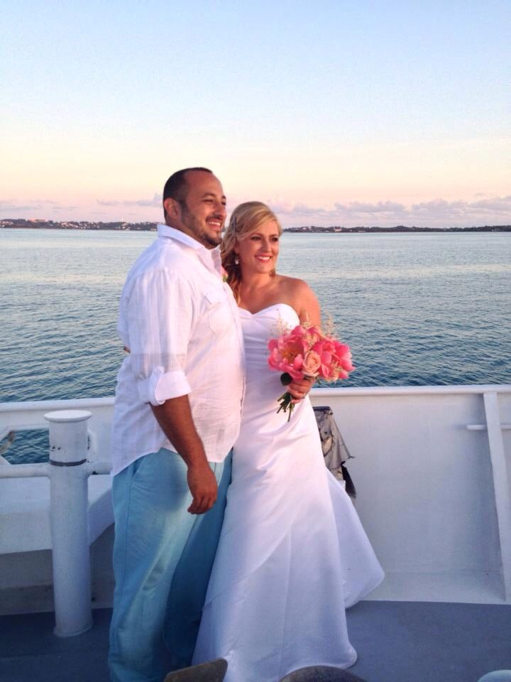 Destination Wedding Reception Lady Tamara In Bermuda Planner