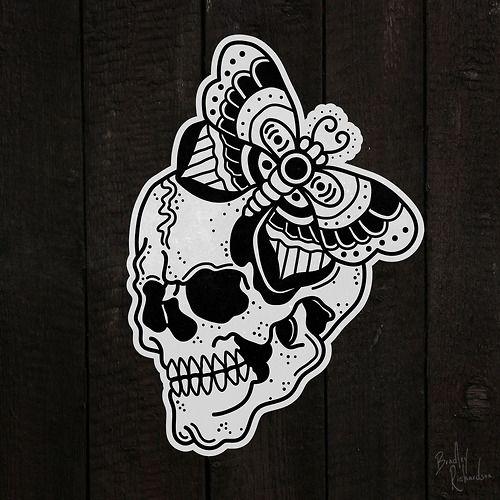 Traditional Flash Skull Tattoos: Flash Tattoo Sailor Jerry - Pesquisa Google