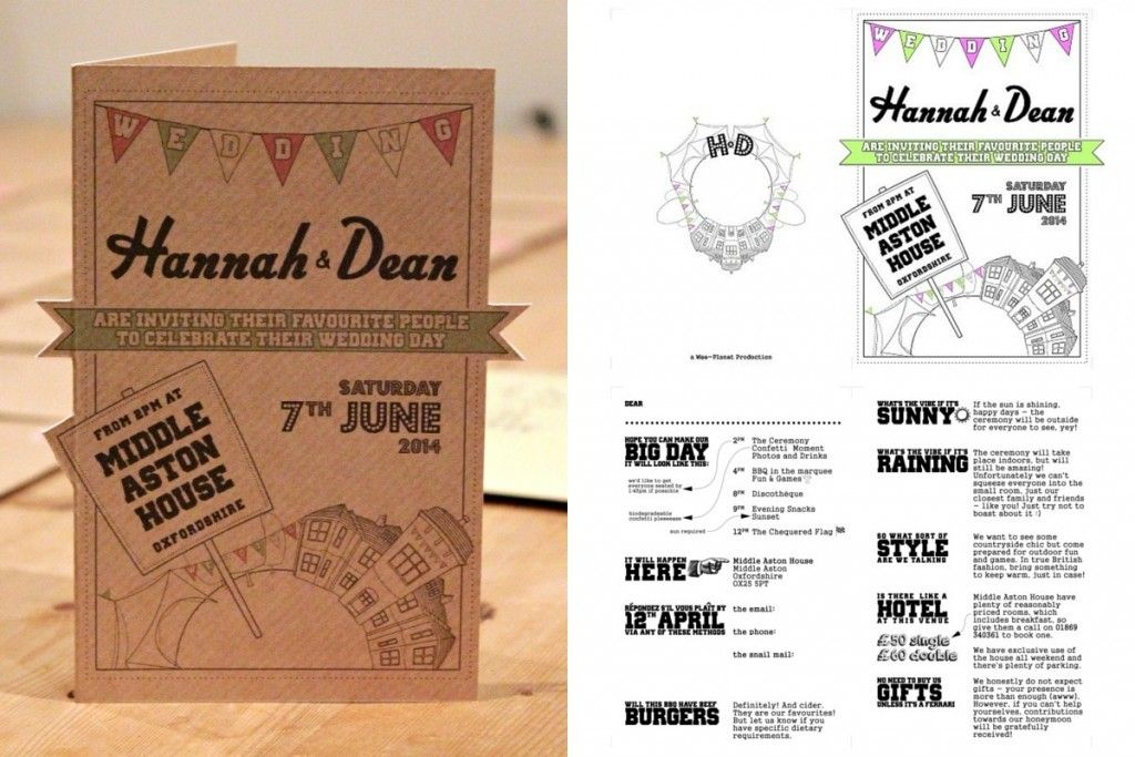 our diy wedding invitations were a real success personalised and we