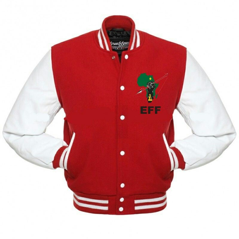 c4aa5652c Baseball Jacket R500   EFF Regalia   Leather varsity jackets ...