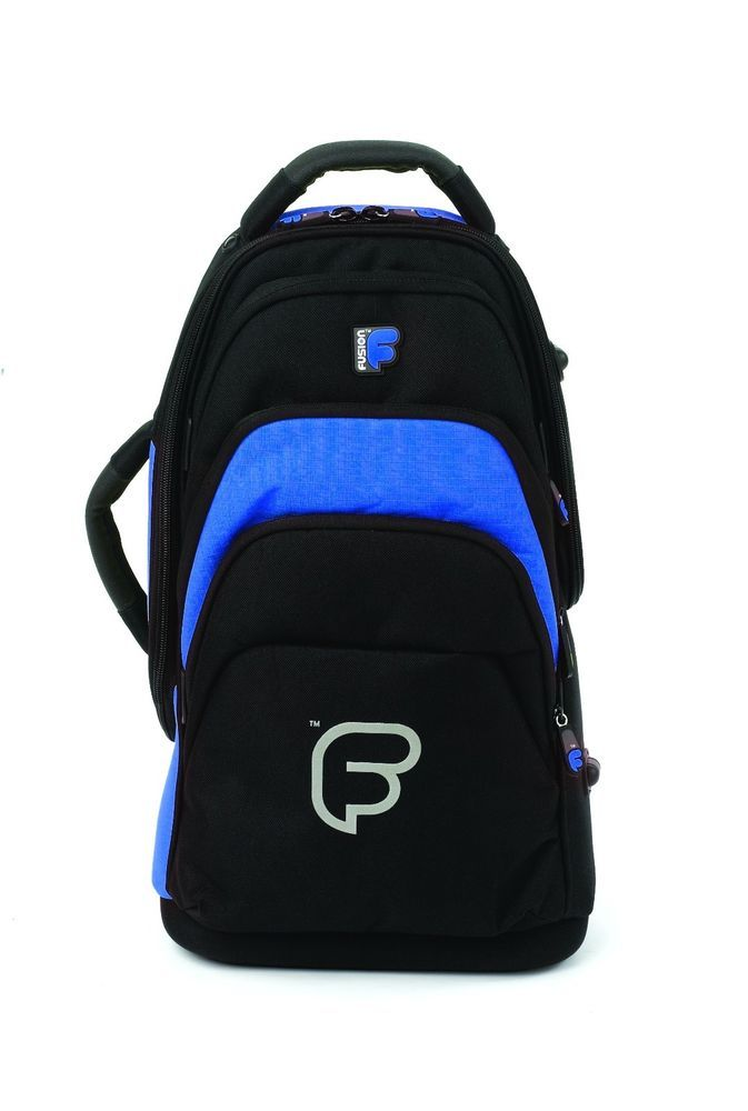 Cornet Case Gig Bag Backpack Fusion F1 Polyester Blue And Black Backpack Bags Bags Backpacks