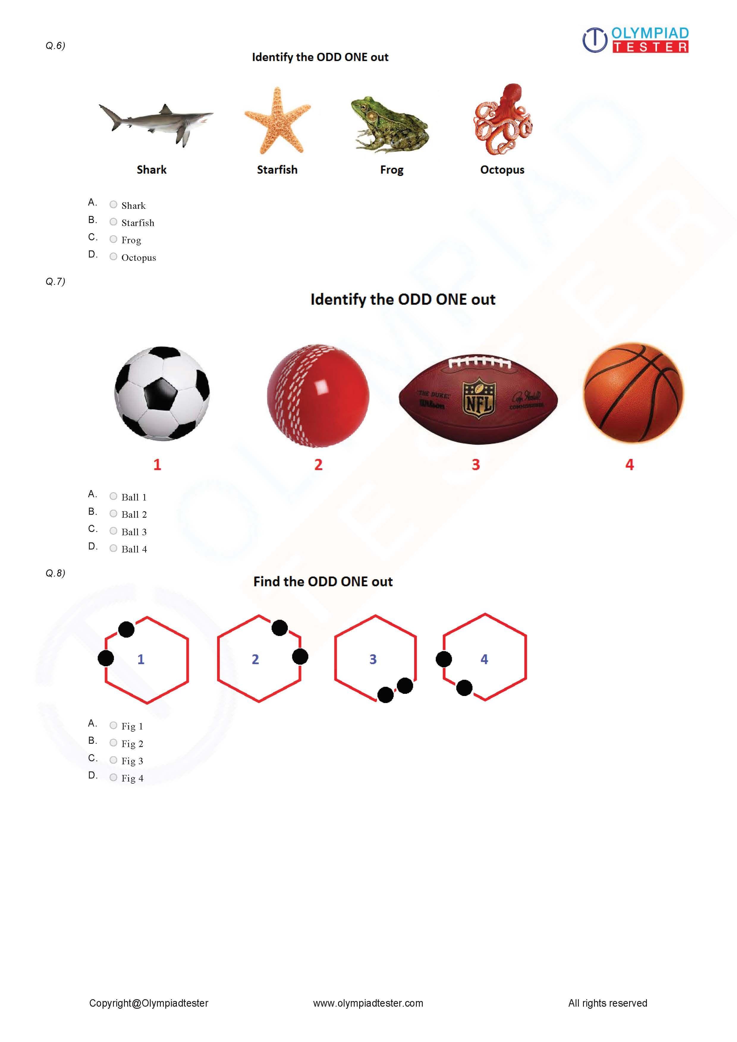 Logical Reasoning Worksheet 04
