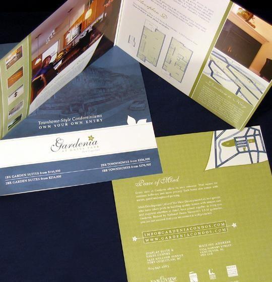 Brochure  Direct Mailer Design For Real Estate Marketing Project