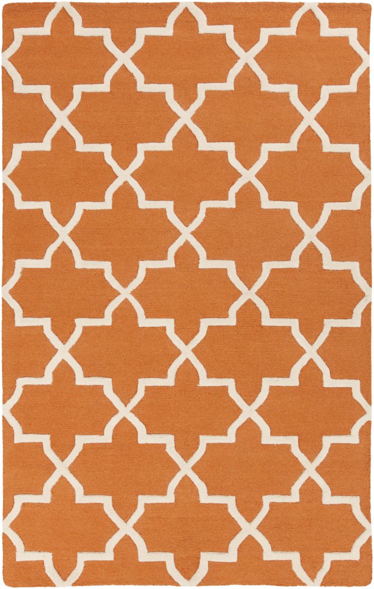 Artistic Weavers Pollack Keely Orange-White Area Rug