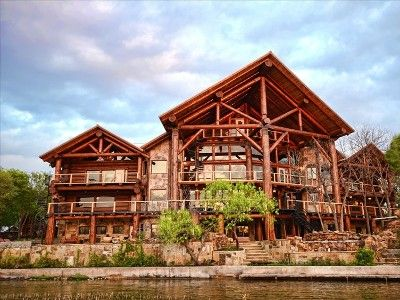 Big Timber Lodge   Log Home   Lake Lbj   Pool   Sleeps Rental In Kingsland  From