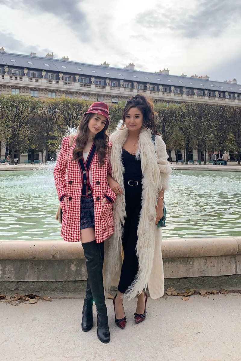 Everyone's obsessed with Emily In Paris, & we caug