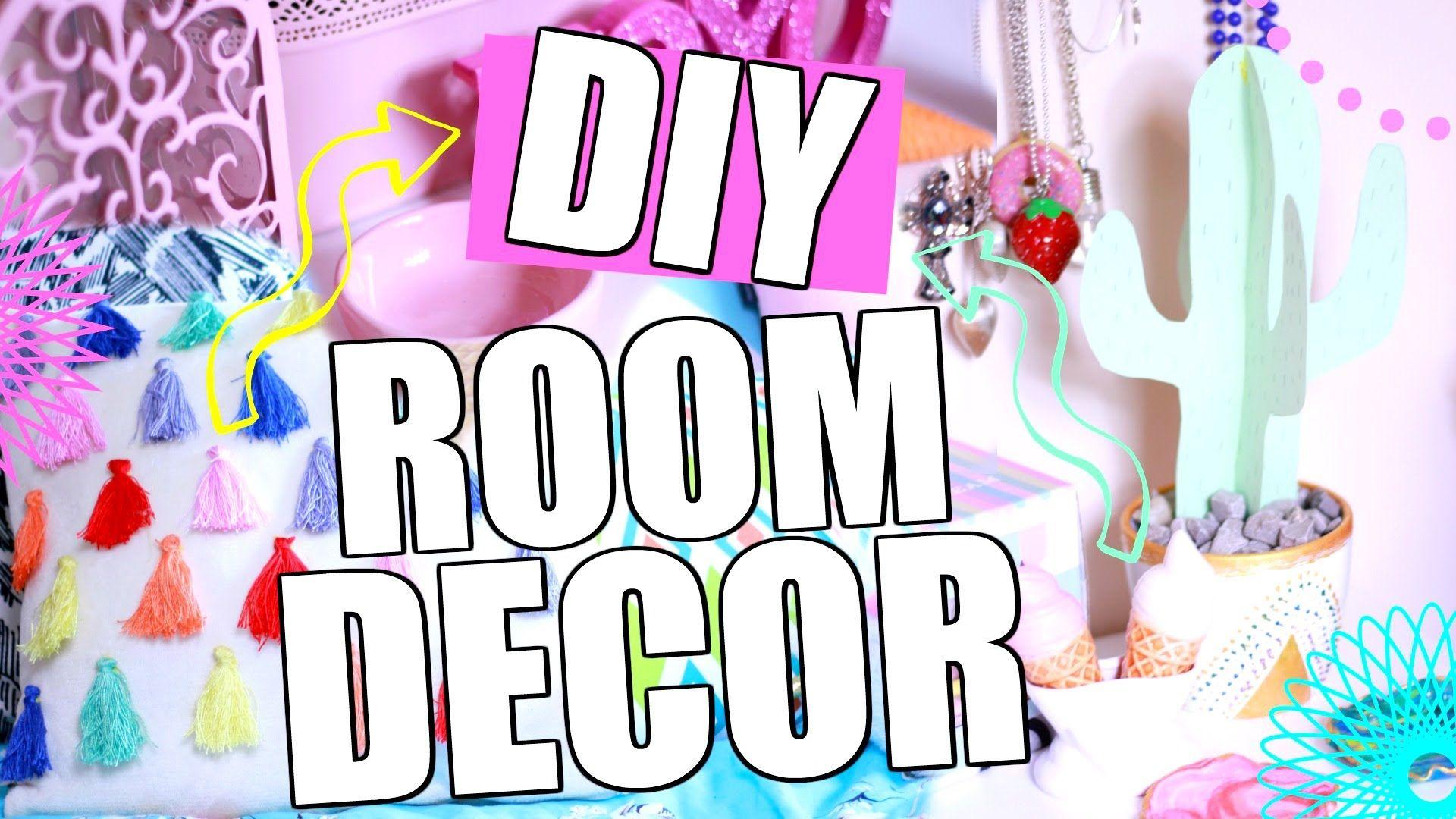 Dekoracje Do Pokoju Diy Inspirowane Tumblr Diy Room Decor Tumbr