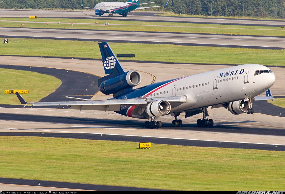 World Airways McDonnell Douglas MD11 N272WA touching down