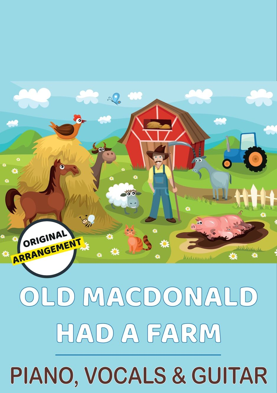Old Macdonald Had A Farm Spon Farm Books Download Macdonald Ad Childrens Songs Music Book What Child Is This