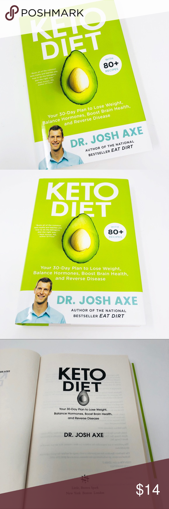 New Keto 30 Day Diet Dr Josh Axe Hardcover Book Diet Doctor Dr Josh Axe 30 Day Diet