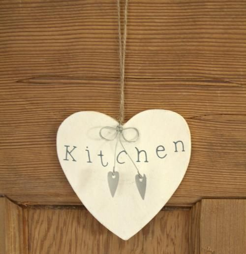 Wooden heart sign - KITCHEN - Melody Maison®