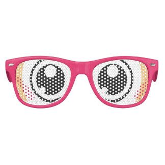 Halloween Costume Anime Manga Eyes Sunglasses Party Shades for Party Gift Bags or Halloween Party Prizes. (fun, lol, cosplay, anime costume, manga costume, girl costume, kids, children) 15% OFF SALE