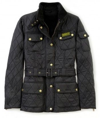 Barbour Black International Polar Quilt Jacket $223.76 Brave the great outdoors in style with this classic International Polar Fleece style from luxury English outerwear specialists, Barbour.