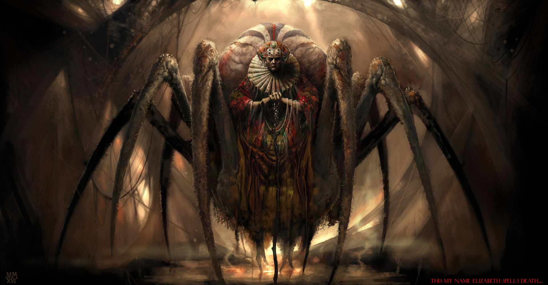картинки зловещие пауки принадлежность ордену