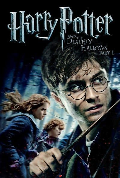 Harry Potter And The Deathly Hallows Part 1 Deathly Hallows Part 1 Harry Potter Dvd Harry Potter Movie Posters