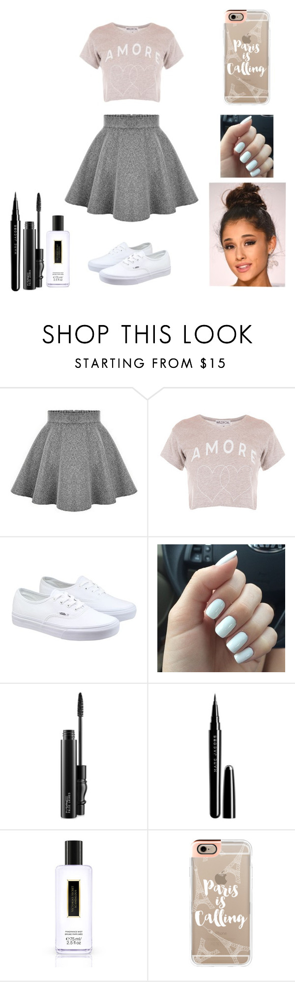 """""""All Around The World"""" by moniqueforeverz ❤ liked on Polyvore featuring Vans, MAC Cosmetics, Marc Jacobs, Victoria's Secret, Casetify, women's clothing, women's fashion, women, female and woman"""