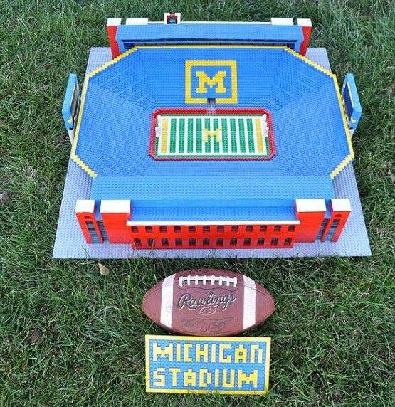 newest 1ef95 b4a5f This guy turns Legos into stadium replicas! | Fans | Lego ...