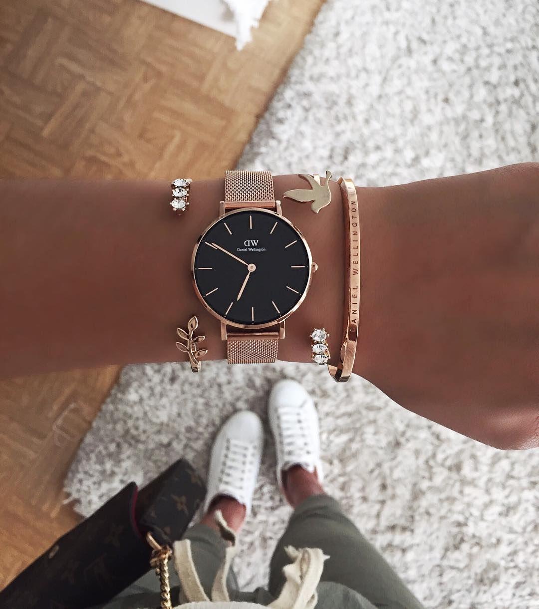11 4 Mil Curtidas 62 Comentarios Thanya Thanyaw No Instagram Ihr Lieben Ab Heute Gib Modische Armbanduhren Frauen Accessoires Daniel Wellington Uhr