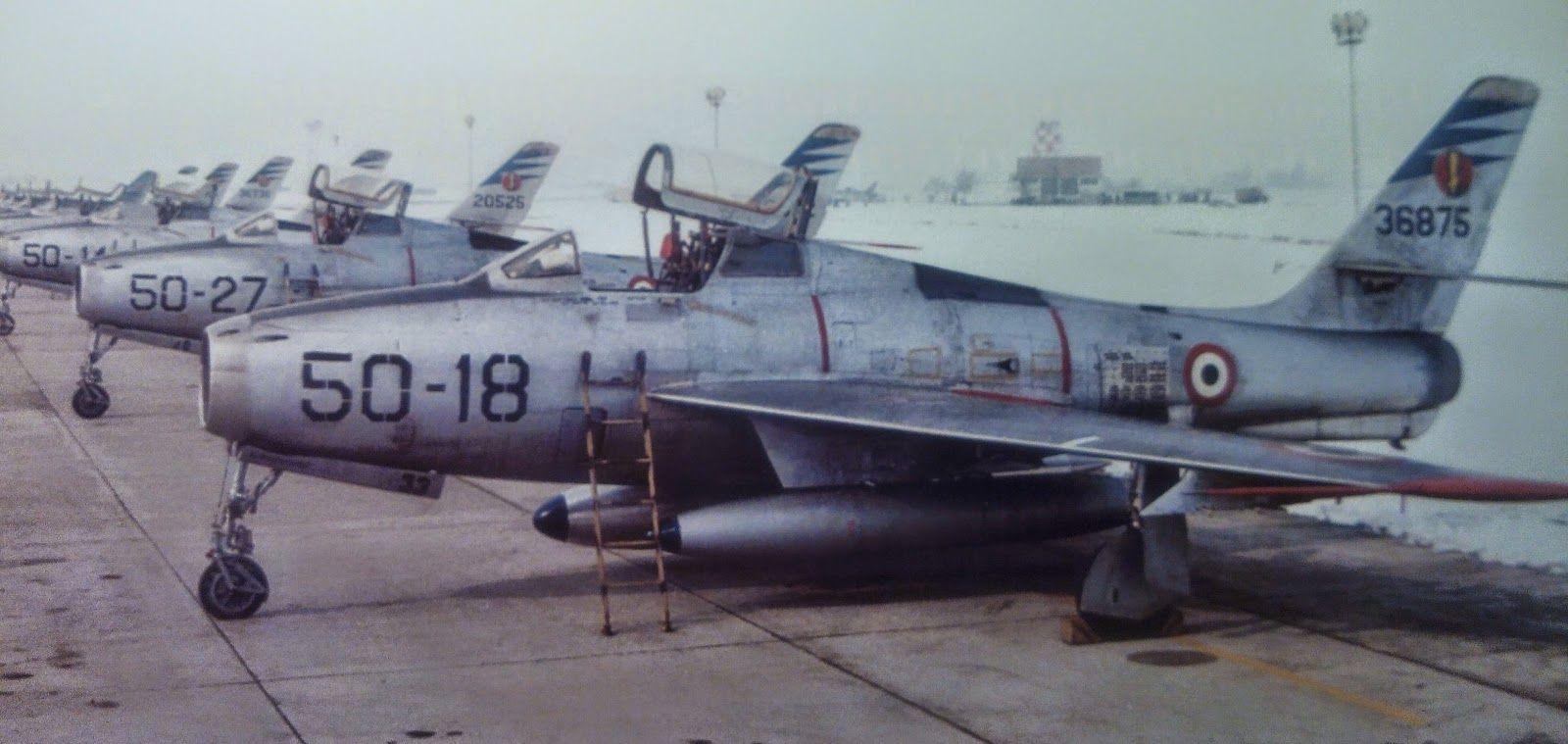 AeroStoria Anni'50: I Caccia degli anni della rinascita: Aeronautica Militare una potenza occidentale.