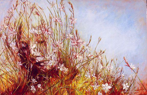 Perennial Beauty Series. Eric Montoya (born 1968), American Surrealist painter