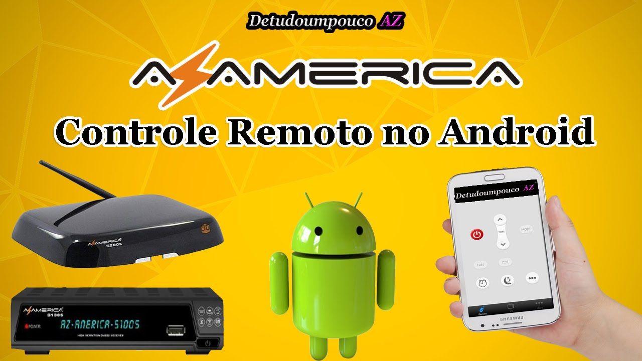 Azamerica S 1005 E S 2005 Hd Com Controle Remoto No Android
