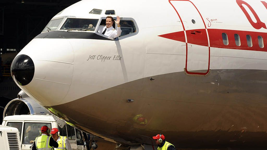 John Travolta 747 Flugzeug