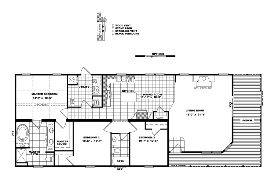Floorplan STEWART | 32DEV28703AH | Clayton Homes of ... on luxury condo floor plans, patio floor plans, cool garage plans, 3 bedroom townhouse plans, mansion floor plans, duplex floor plans, small apartment floor plans, bedroom floor plans, 1 car garage floor plans, small office building floor plans, detached townhome plans, detached garage plans, single stall garage plans, dining floor plans, dubai luxury apartment floor plans, townhouse with garage plans,