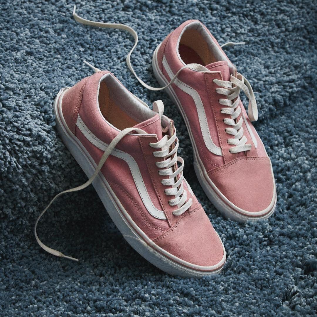 zapatillas hombre vans old school rosa