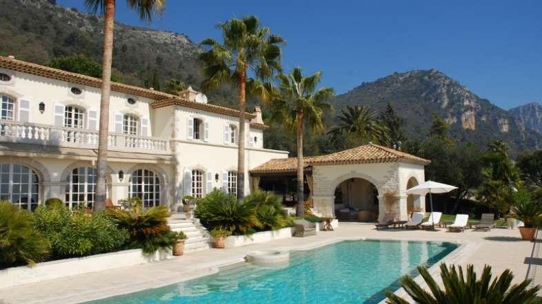 osten trifft westen renovierung luxushaus, us $10.2m vence, france - @luxuryrealestate | mansions, Design ideen