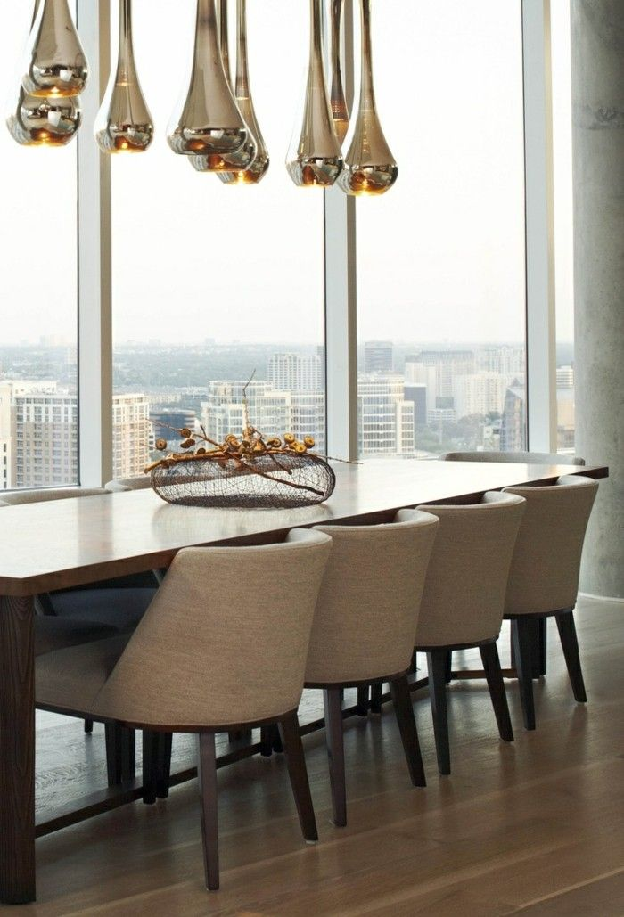 Wohnideen Esszimmer Hängelampen Mit Innovativem Design In Herrlicher Farbe