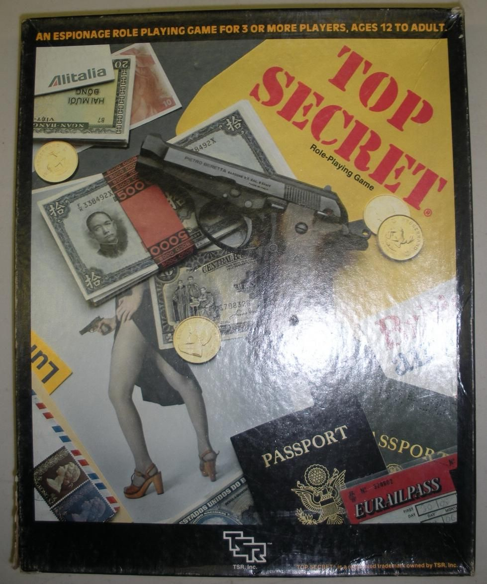 Top Secret Pen and paper games, Roleplaying game