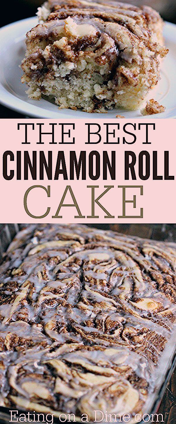 Photo of Easy Coffee Cake Recipe – The Best Cinnamon Roll Cake Recipe – Eating on a Dime