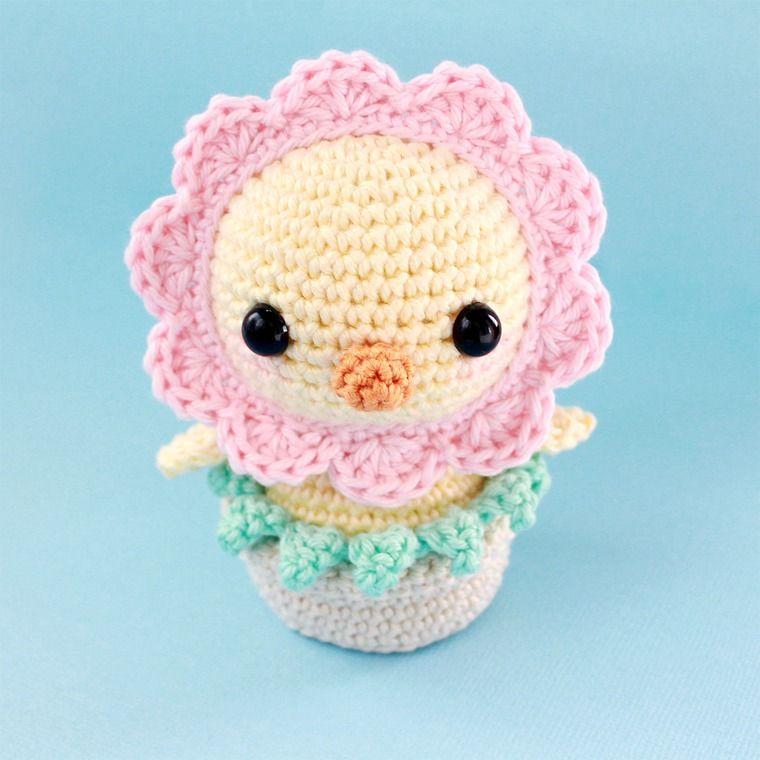 амигуруми, цветок крючком | Крючком - Звери, рыбы, гады | Pinterest ...