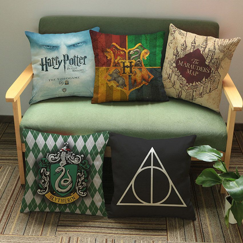 Harry potter oreiller pour la maison d coration taille for Decoration maison harry potter