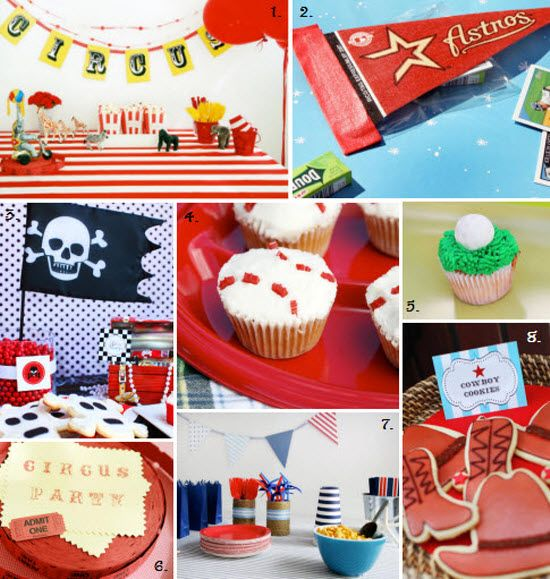 Kids Birthday Themes Boys Birthday Party Ideas Birthday