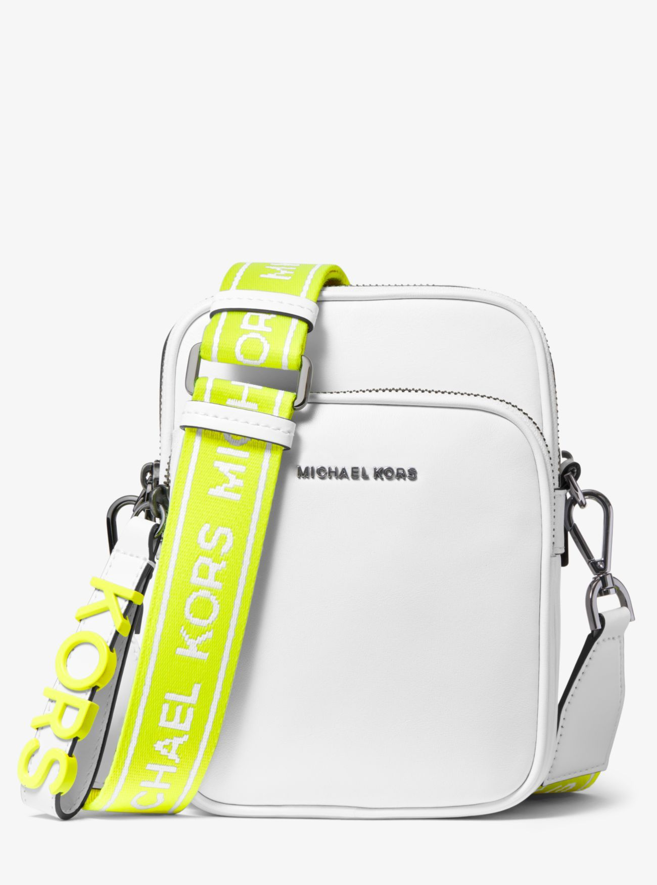 Neon Logo Tape Crossbody Bag