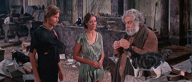 Image result for peter ustinov logan's run