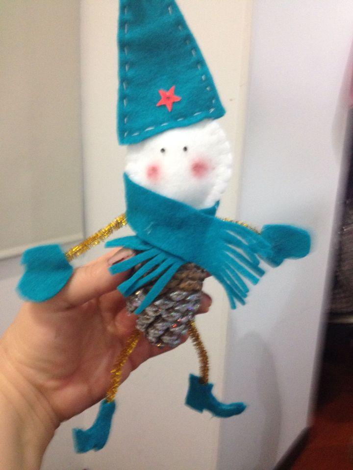 Primer muñeco de Navidad